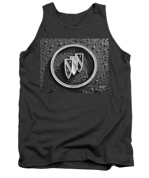 Tank Top featuring the photograph Emblem Mono by Dennis Hedberg
