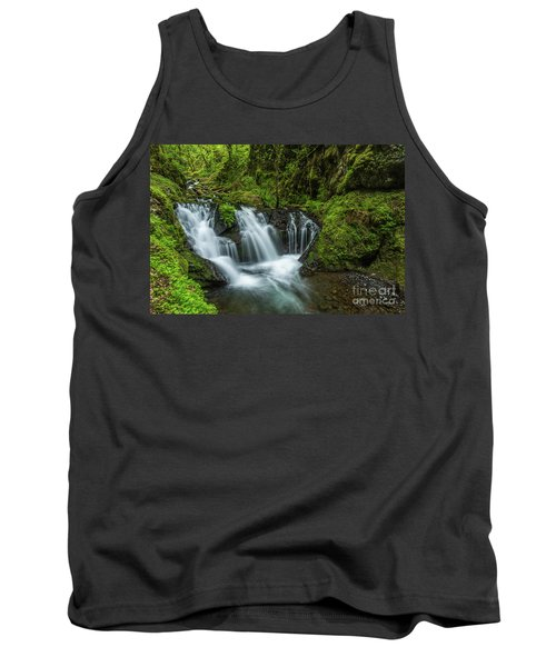 Emeral Falls Waterscape Art By Kaylyn Franks Tank Top