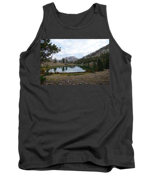 Tank Top featuring the photograph Jarbidge Wilderness Emerald Lake by Jenessa Rahn