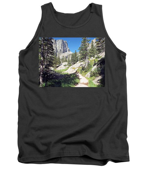 Tank Top featuring the photograph Emerald Lake Trail - Rocky Mountain National Park by Joseph Hendrix