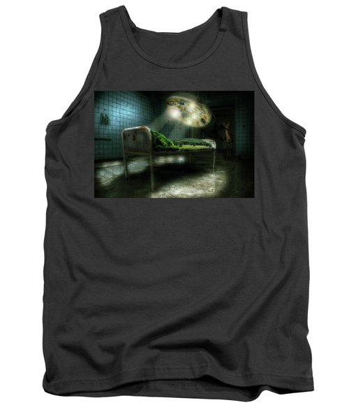 Tank Top featuring the digital art Emergency Nature  by Nathan Wright
