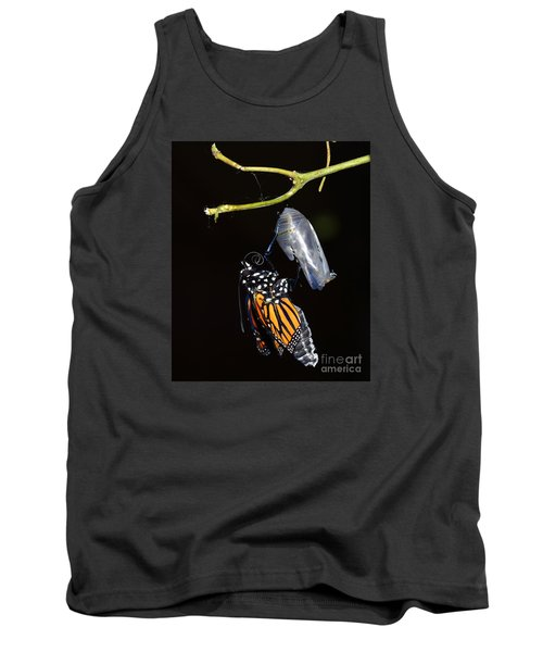Tank Top featuring the photograph Emergent by Lew Davis