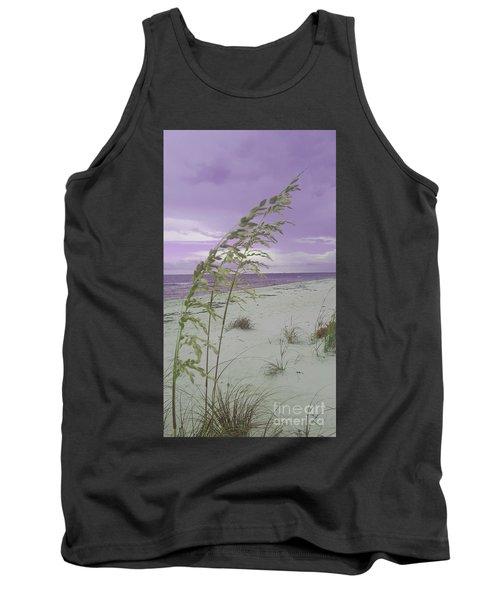 Emma Kate's Purple Beach Tank Top