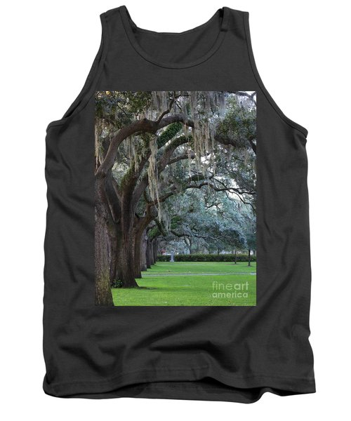 Emmet Park In Savannah Tank Top