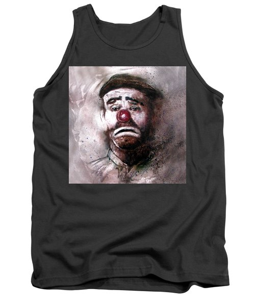 Emmit Kelly Clown Tank Top