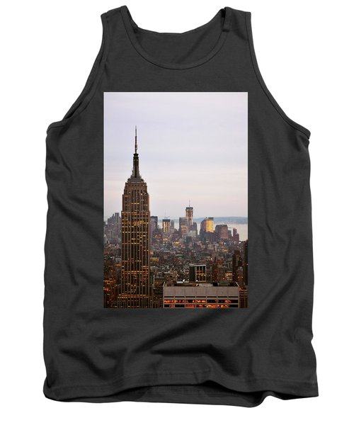 Empire State Building No.2 Tank Top by Zawhaus Photography