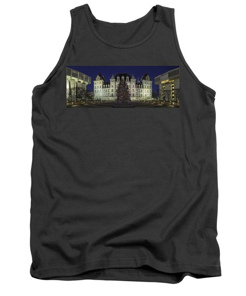 Empire State Plaza Holiday Tank Top