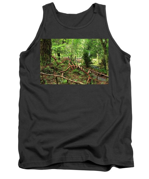 Tank Top featuring the photograph Enchanted Forest by Aidan Moran