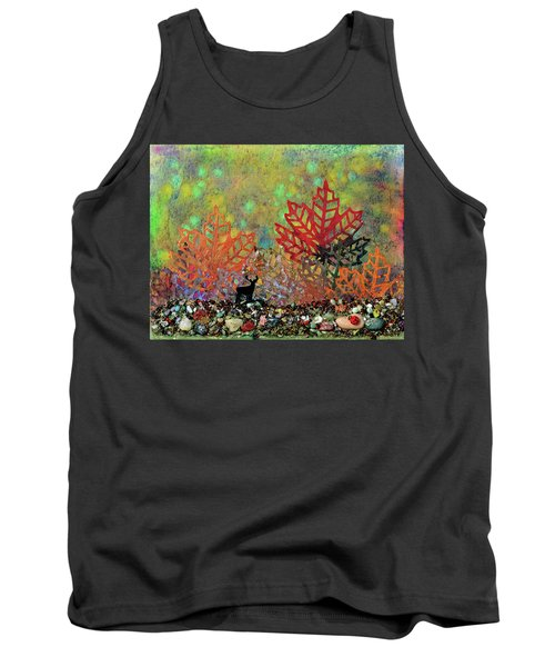Enchanted Pathways Tank Top by Donna Blackhall