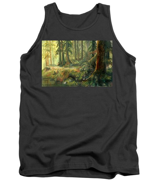Enchanted Rain Forest Tank Top by Sherry Shipley
