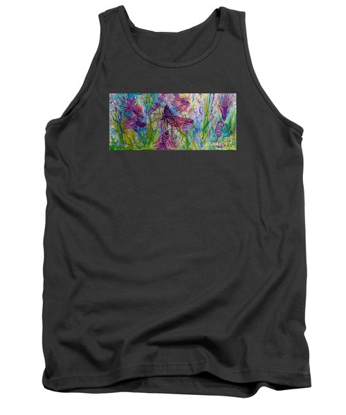 Enchanted Sealife Party Tank Top