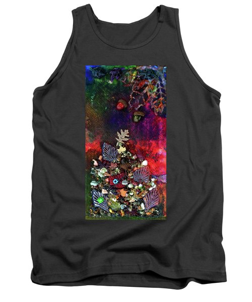 Enchanted Twilight Tank Top by Donna Blackhall