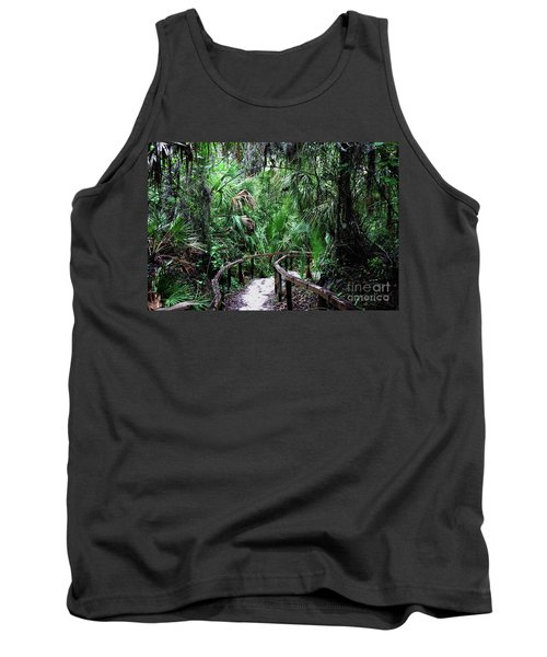 Tank Top featuring the photograph Enchanted Walk by Gary Wonning