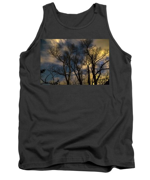 Tank Top featuring the photograph Enchanting Night by James BO Insogna