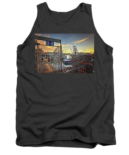 End Of Fishing Day Tank Top