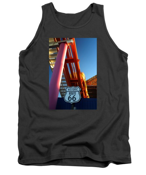 End Of Route 66 2 Tank Top
