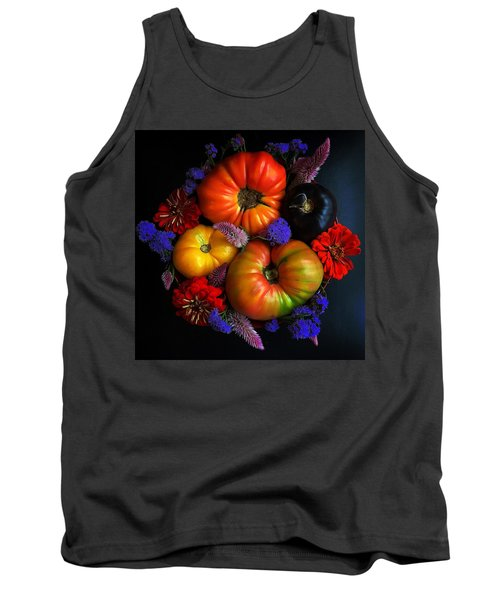 End Of Summer Colors Tank Top