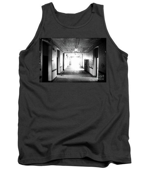 Tank Top featuring the photograph End Of The Hall by Randall Cogle
