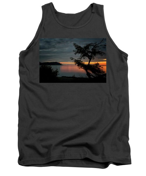 End Of The Trail Tank Top by Randy Hall