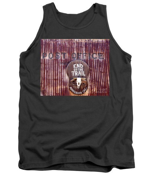 End Of The Trail Tank Top by Suzanne Lorenz