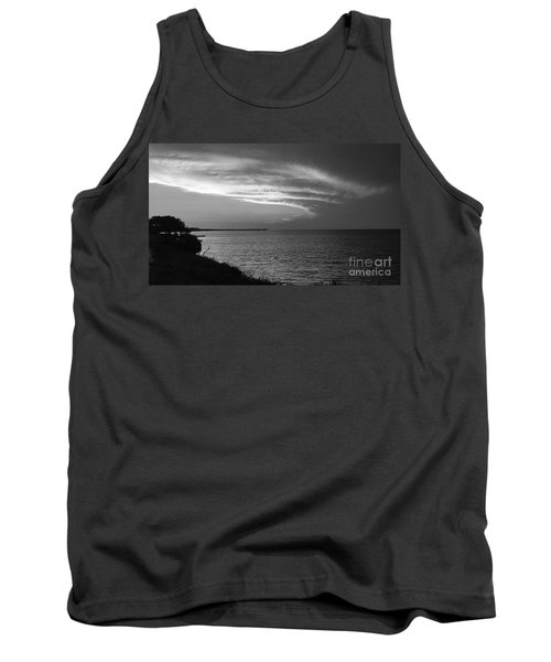Ending The Day On Mobile Bay Tank Top