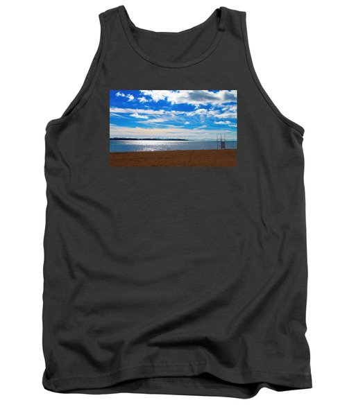 Tank Top featuring the photograph Endless Sky by Valentino Visentini