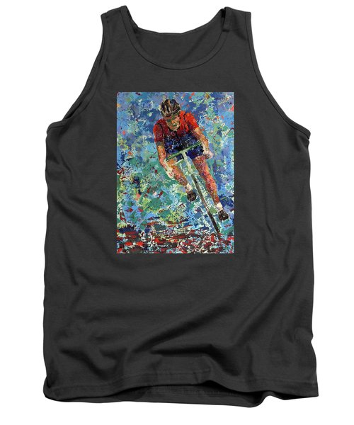 Enduring The Last Mile Tank Top by Walter Fahmy