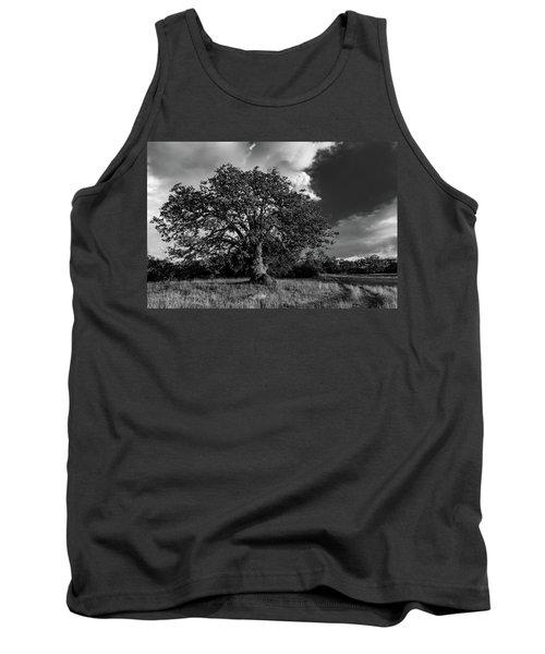 Engellman Oak Palomar Black And White Tank Top