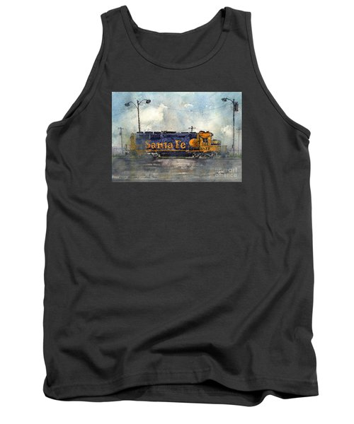Tank Top featuring the painting Engine 3166 by Tim Oliver