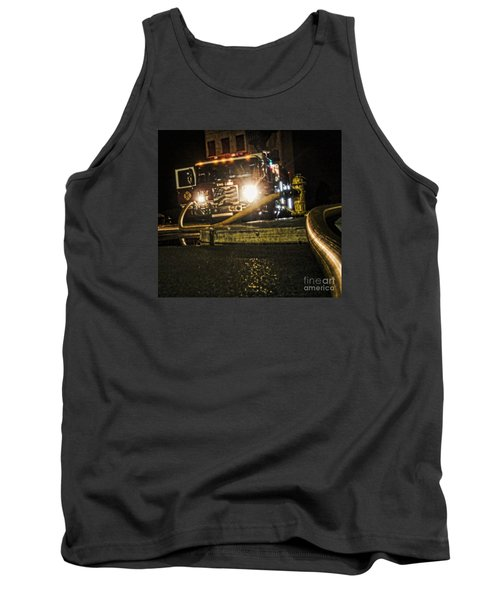 Tank Top featuring the photograph Engine 4 by Jim Lepard