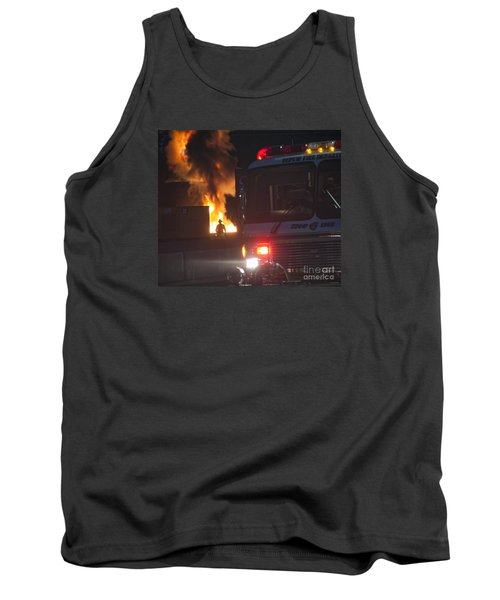 Tank Top featuring the photograph Engine 6 by Jim Lepard