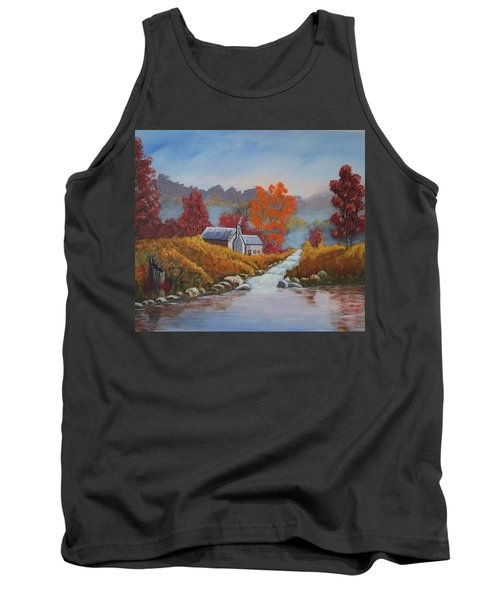 English Countryside Tank Top