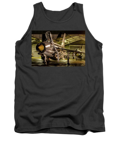 English Electric Lightning Qra Shed Tank Top by Ken Brannen