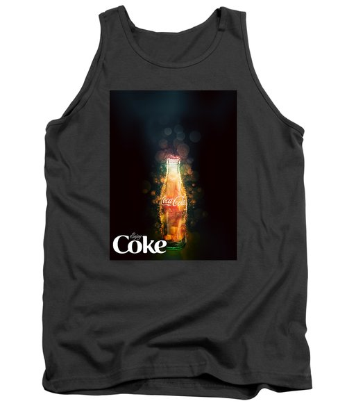 Enjoy Coca-cola With Bubbles Tank Top