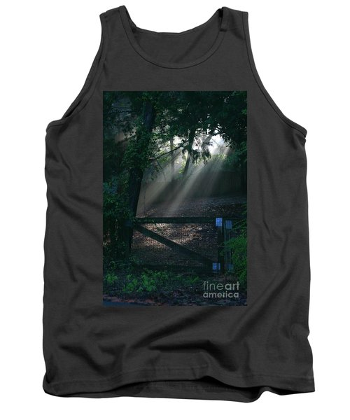 Tank Top featuring the photograph Enlighten by Lori Mellen-Pagliaro