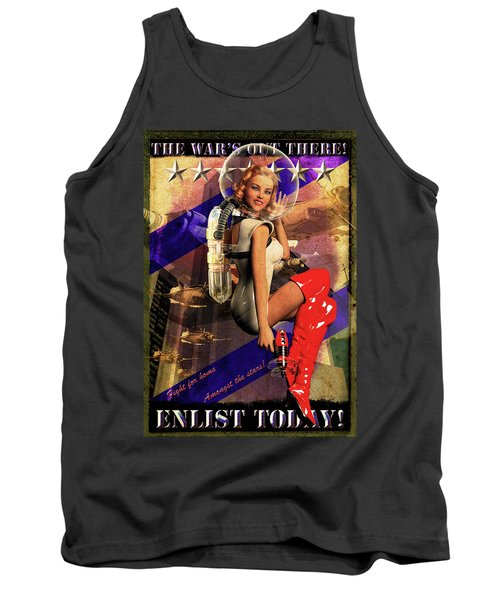 Enlist Today Tank Top