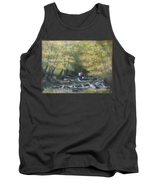 Eno River Afternoon Tank Top