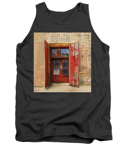 Tank Top featuring the photograph Entry Into The Past by Jeff Burgess
