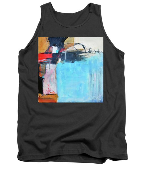 Tank Top featuring the painting Equalibrium by Ron Stephens
