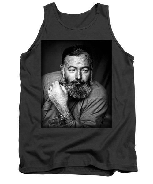 Ernest Hemingway 1944 Tank Top