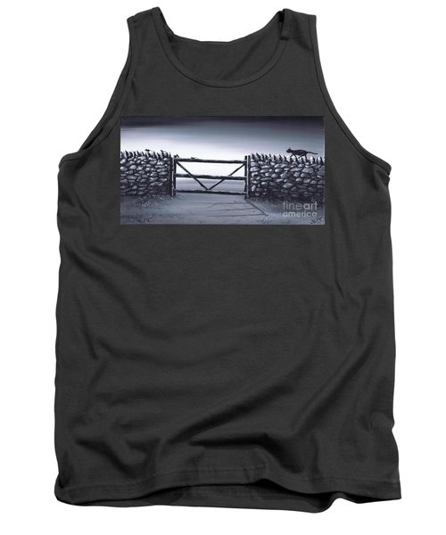 Tank Top featuring the painting Escape Plan by Kenneth Clarke