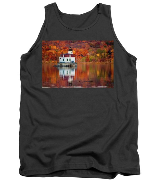 Esopus Lighthouse In Late Fall #2 Tank Top