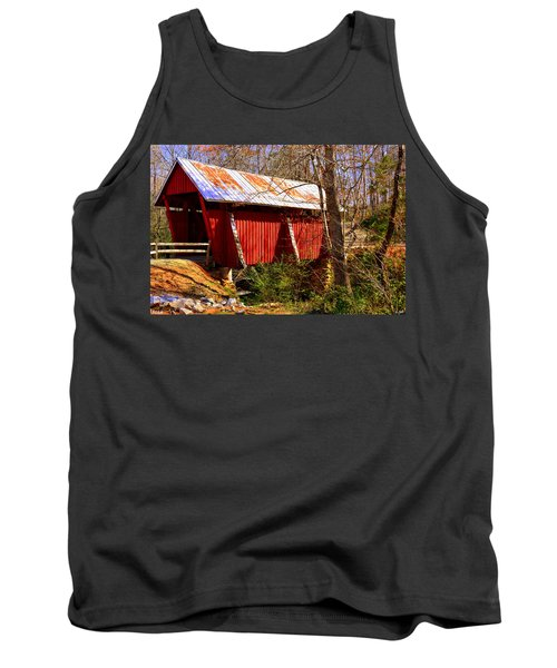 Est. 1909 Campbell's Covered Bridge Tank Top