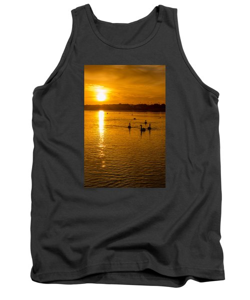 Estuary Sunset Tank Top