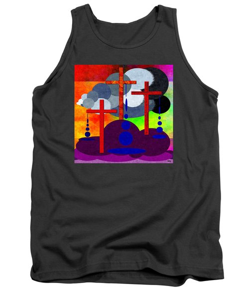 Tank Top featuring the digital art Eternal Consequences by Glenn McCarthy Art and Photography