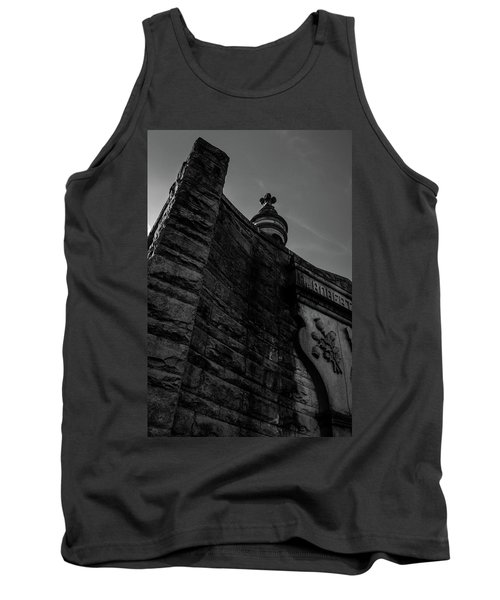 Eternal Stone Structure Bw Tank Top