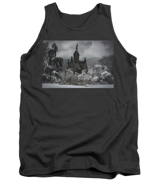 Tank Top featuring the digital art Eternal Winter by Chris Lord