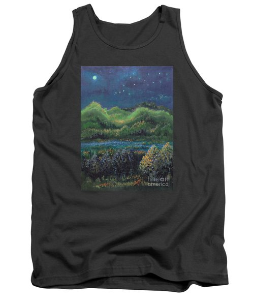 Tank Top featuring the painting Ethereal Reality by Holly Carmichael
