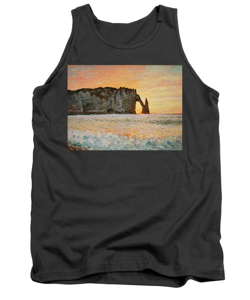 Etretat, Sunset  Tank Top