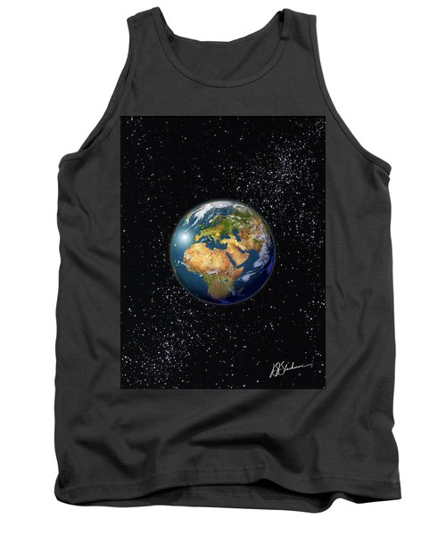 Europe, England, Middle East, North Africa As Seen From Space  Tank Top